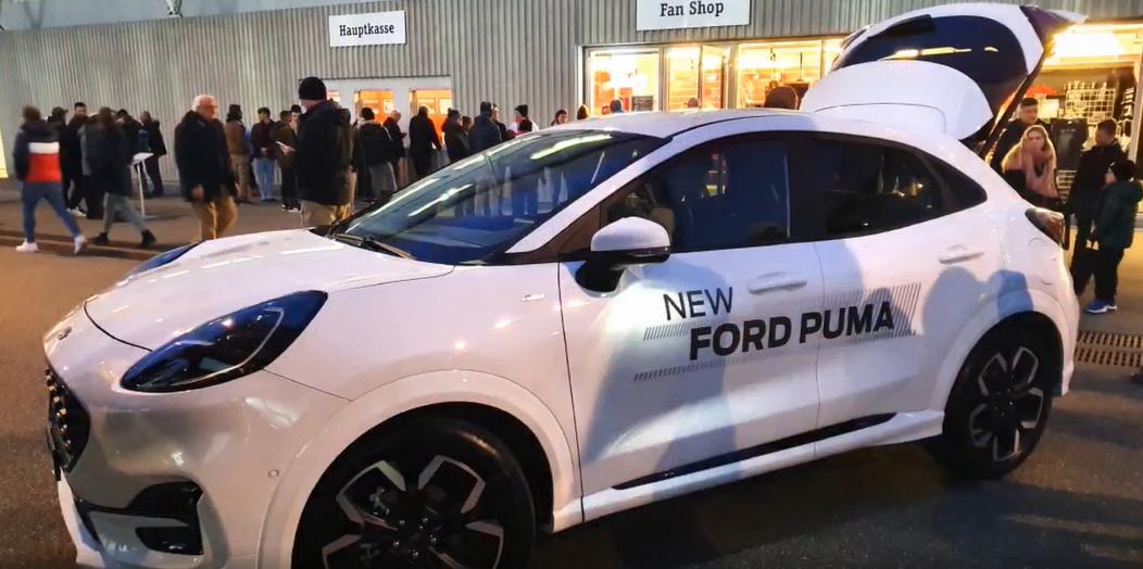 Ford Puma in der Stockhornarena